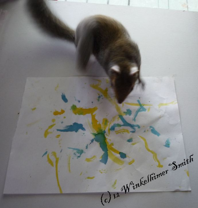 winkelhimer smith the painting squirrel